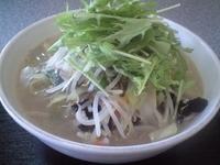 「野菜拉麺750円 大盛り無料」@まぁちゃん拉麺の写真