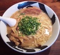 「白武骨ら~麺:750円」@麺屋武蔵 武骨の写真