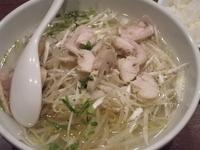「塩汁冷麺(小ライス付)+半餃子(4個)」@中華ダイニング 好鴨の写真