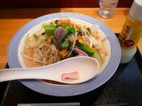 「野菜たっぷりちゃんぽん」@長崎ちゃんぽん リンガーハット 五反田東口店の写真