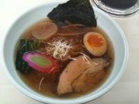「鶏スープの醤油」@眞麺 穂高の写真