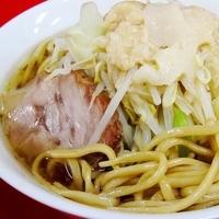 「ラーメン LIGHT  + 魚粉  (アブラダブル)」@ドン-キタモトの写真