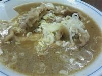 「肉ラーメン(みそ)太麺  780円」@味の横綱の写真