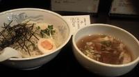 「醤油つけ麺」@上州らーめん桐生 新橋店の写真