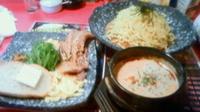 「特製担々つけ麺¥1140→¥1040(クーポン)」@よいち つけ麺研究所 笠懸阿左美沼店の写真