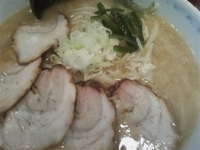 「味噌チャーシューメン800円+サービスライス」@ラーメン 菜香の写真