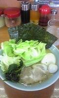 「ラーメン海苔増し」@壱七家 本厚木店の写真