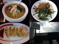 「担担麺(期間限定半額)+Aセット(チャーシュー丼+餃子)」@幸楽苑 佐野店の写真