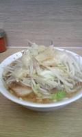「ラーメン豚入り(ニンニク、アブラ)」@ラーメン二郎 栃木街道店の写真