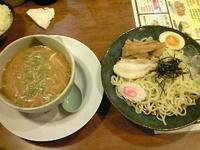 「野菜つけめん(みそ)750円」@おおぎやラーメン 伊那店の写真