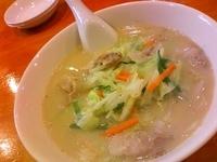 「タンメン」@中華料理 鮮菜の写真