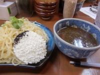「黒つけ麺特盛り5辛(1000円)」@坦々つけ麺 ごまゴマの写真