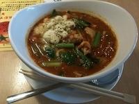 「トマトマサラ麺」@トマト麺 Vegieの写真