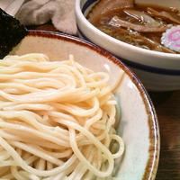 「メンマつけ麺・中盛り(300g) ¥750」@大勝軒 十五夜 新宿御苑店の写真