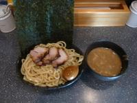「特製バカつけ麺(無料で大盛り)極太麺」@麺バカ息子の写真