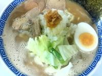 「濃厚中華そば 650円」@鶏とふじの写真