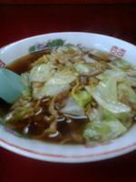 「スープ入り焼きそば並」@こばや食堂の写真