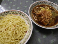 「サンマーつけめん(三生碼麺)」@栄来軒 NOWの写真