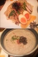 「[創作] 秋味冷つけ麺、茄子味噌雑炊」@麺や 庄のの写真