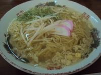 「素ラーメン」@武蔵屋食堂の写真
