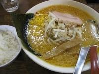 「自家製こってり味噌らーめん800円(太麺、麺固め、味濃いめ、コッ」@麺や 天鳳の写真