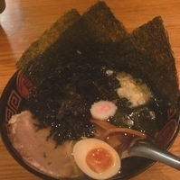 「のりのりらーめん(塩・細麺) ¥800」@火門拉麺の写真