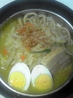 「エビースター大麺(1食あたり¥850)」@らぁめん大山 富士本店の写真