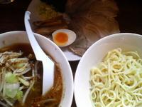「野菜つけ麺+チャーシュー」@喝力屋の写真