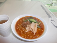 「みそ担担麺(700円)+替え麺(100円)」@まる担 おがわの写真