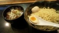 「醤油つけ麺」@麺処 蓮海 平岸店の写真