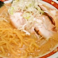 「味噌ラーメン¥750 + ランチサービス半ライス」@札幌 味噌やの写真