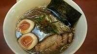 「魚介醤油 味玉」@めんめん亭の写真
