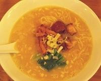 「鶏白湯麺・醤油 892円 (麺少なめ)」@SOULMEN魂麺の写真