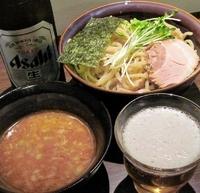「鶏魚介つけそば」@煮干soba 柘榴の写真