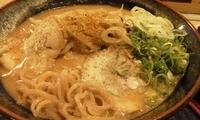 「胡麻味噌ラーメン¥600+ランチ(ごはん・おかず食べ放題)¥10」@ラーメン みなとやの写真