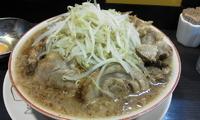 「ラーメン小(野菜2倍)¥550+豚増¥200+生卵¥50+魚粉¥」@ダントツラーメン 岡山一番店の写真