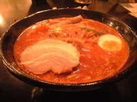 「鉄火麺特製味噌 大辛 大盛り」@麺屋 五郎蔵の写真