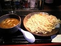 「醤油つけ麺(中盛り)」@つけ麺屋 のぶなが 本店の写真