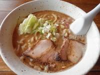 「豚と魚介の味噌 750円」@力丸の写真