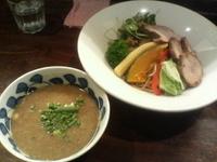 「潮SAWAジョニーつけ麺(11月夜のみ限定)」@らー麺屋 バリバリジョニーの写真