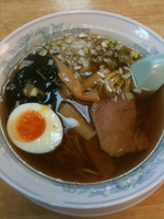 「ラーメン ¥400」@松林の写真