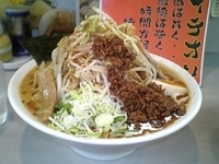「雷醤(らいじゃん)味噌ラーメン (¥850)」@広輪坊 松戸店の写真