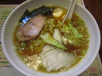 「無双中華そば(200円)」@麺飯坊 無双の写真