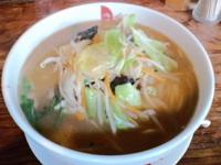 「味噌野菜ラーメン 700円」@麺処きくの写真