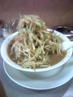 「ミソタンメン・太麺(680円)」@味の横綱の写真