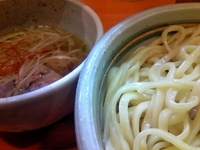 「塩つけ麺 (大盛、ゆず抜き) 800¥ + 100¥」@尼崎 塩元帥の写真