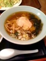 「ラーメン・炒飯セット(日替わり) 650円」@中華料理 日華の写真