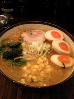「・味玉味噌らーめん¥900」@横浜らーめん 上州田村家の写真