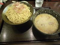 「燕三条系つけ麺」@煮干 丸めの写真