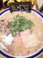「ラーメン 680円」@博多長浜らーめん 田中商店の写真